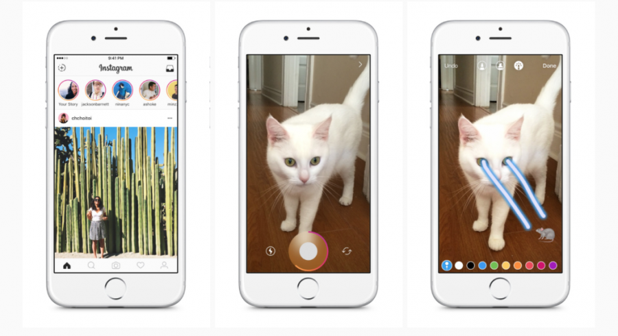 Instagram-Marketing Stories, Online-Business