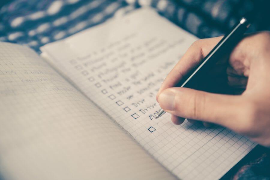 List Post schreiben