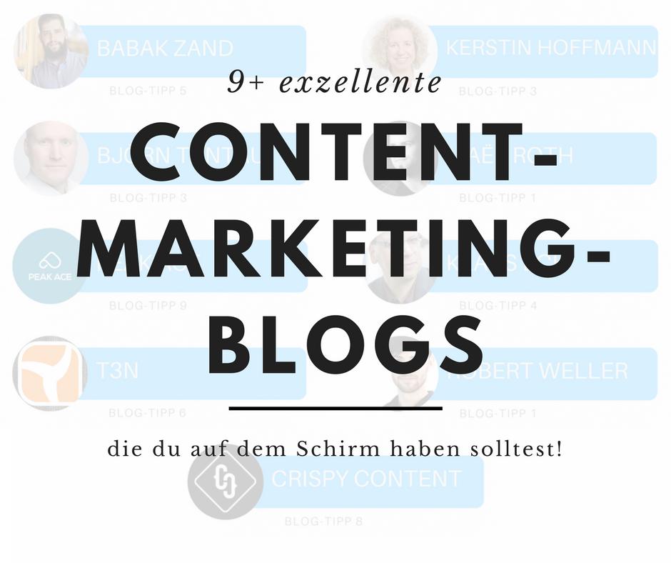 deutsche Content Marketing Blogs
