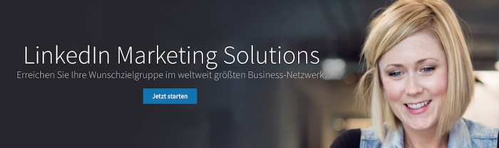 LinkedIn Marketing Solutions für Unternehmensprofile