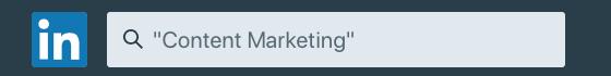 LinkedIn Kontakte Suche Anführungszeichen