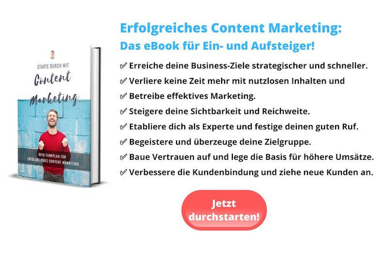 Content Marketing eBook Blogartikel schreiben