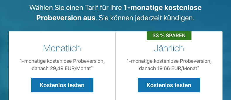 Preismodell LinkedIn Learning